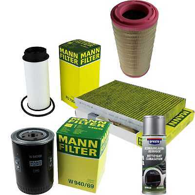 Mann-Filter Package + Presto Air Cleaner for Iveco Daily V Flatbed/Chassis