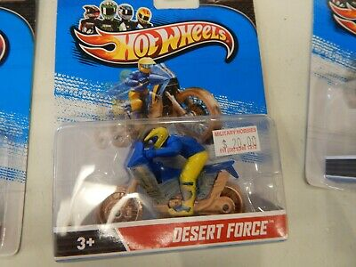 Hot Wheels Speed Cycles Desert Force