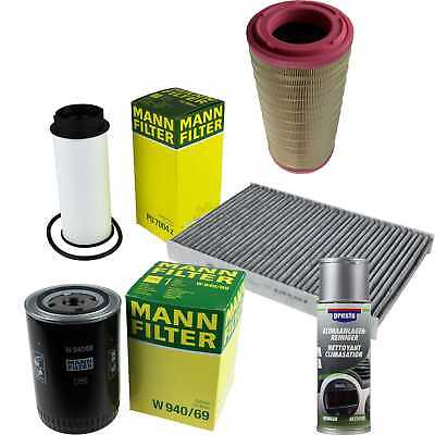 Mann-Filter Package + Preso Air Cleaner for Iveco Daily V Pickup/Chassis
