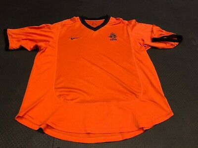 970dd35dfe5 Netherlands Holland National Soccer Football Team KNVB Nike Jersey Mens Sz M