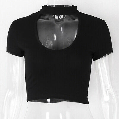 Summer Fashion Women Casual Crop Top Slim Tank Top Camisole Vest Tops H