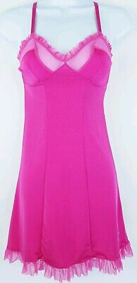Victorias Secret Sexy Little Things Womens Pink Babydoll Lingerie Size Small