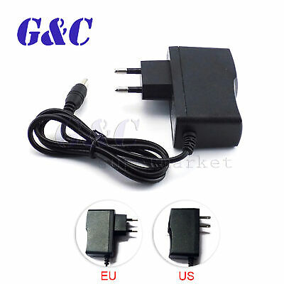 DC 12V 2A AC US/EU Plug Adapter Charger Power Supply for LED Strip Light