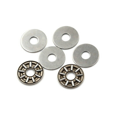 4set AXK0619 Thrust Needle Roller Bearing With Two Washers 6mm x 19mm x 2mm BWGG