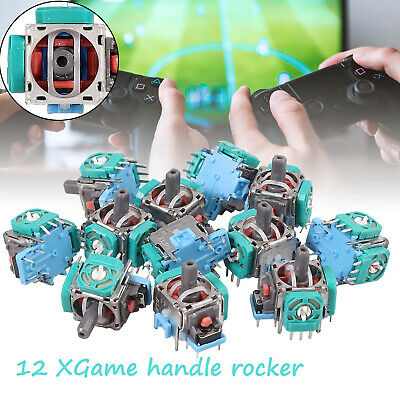 12PCS Analog Stick Joystick Repair Parts Game Handle Controller For XBox One PS4