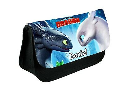 Personalised How to train your dragon Pencil Case Bag Gift Idea School
