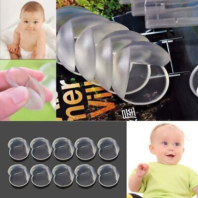 10pcs Clear Table Desk Corner Edge Guard Cushion Baby Safety Bumper Protector BR