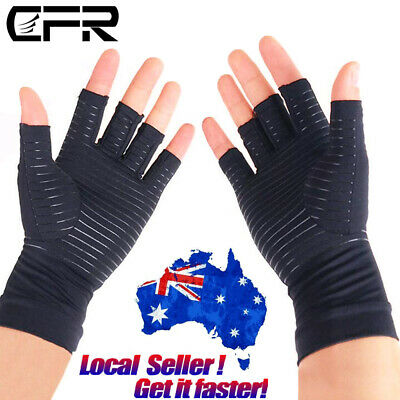 Compression Gloves Wrist Support Hand Brace Arthritis Carpal Tunnel Pain Relief