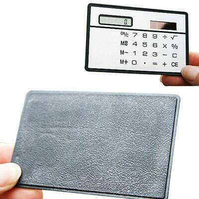 1 pc Stationery School Student Function ultra thin Calculator solar Powered BR