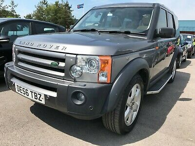 56 Land Rover Discovery 3 2.7 Tdv6 Hse - Satnav, 7 Seats, Leather, Sunroof