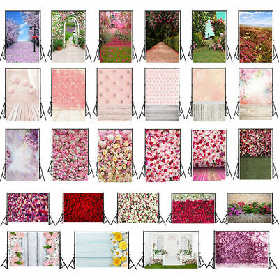 UK Flower Wedding Theme Photo Photography Backdrop Studio Wall Screen Background