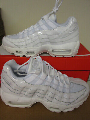 NIKE POUR FEMME Air Max 95 Soi Baskets Chaussures Fille Platinumsilver UK 6