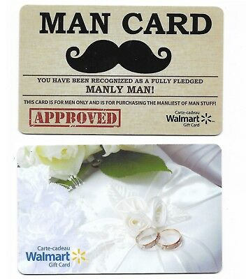2 Collectible store WALMART gift card Canada ring mustaches