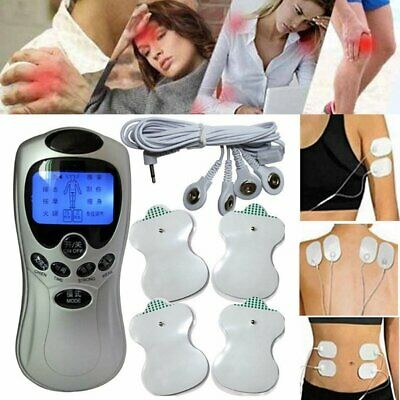 Electrical Stimulation Massage Tens Unit Machine Muscle Therapy Pain Relief FM