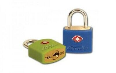 TSA Approved Identi High Security Key Lock Padlock for Travel Luggage Suitcases