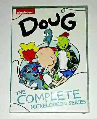 New! Doug: The Complete Nickelodeon Series. 2014 Dvd. 6 Disc Set. Ships Free