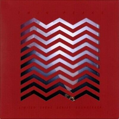 Twin Peaks Limited Event Series Ost New Sealed Coloured Vinyl 2Lp In Stock