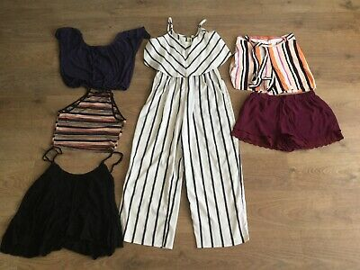 Womens Summer Bundle Size 12 Shorts Tops Jumpsuit