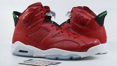 buy popular bcc8c 03a7c Air Jordan Vi 6 Retro Used Sz 13 Spizike Varsity Red Green White 694091 625  Box