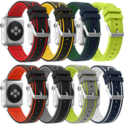 iwatch Sports Silicone Bracelet Strap Band For Apple Watch Series 1/2 42MM