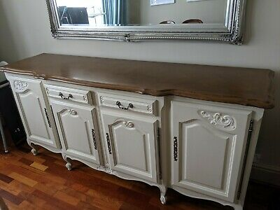 Dining Room French Antique Sideboard: High-Quality, Solid Wood, SUPERB CONDITION