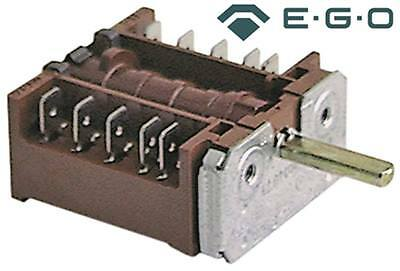 Ego 42.02400.001 Cam Switch 4-pin Axle Ø 6x4, 6x23mm 3 Positions