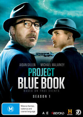 PREORDER - Project Blue Book: Season 1 (History)  - DVD - NEW Region 4