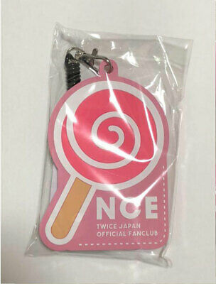 TWICE Fan Club ONCE JAPAN 2nd Anniversary Limited Pass Case Candy Bong Pink New