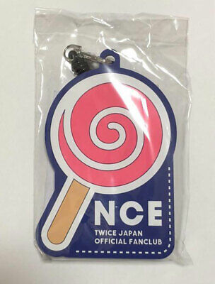 TWICE Fan Club ONCE JAPAN 2nd Anniversary Limited Pass Case Candy Bong Navy New