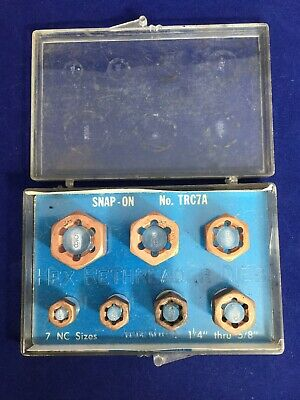 Snap On  TRC7A Copper Coarse Hex Rethreader Dies