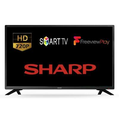 "Sharp LC-32HI5232K I5230 Series 32"" Smart LED HD TV With Freeview Play HDMI USB"