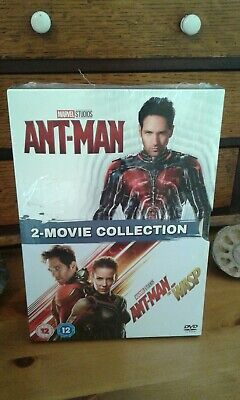 NEW/SEALED MARVEL ANT-MAN/AND THE WASP 1 & 2 Movie Collection DVD BOX SET 2018