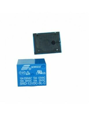 Relais 12V - 250V / 10A Songle SRD-12VDC-SL-C 4040Z