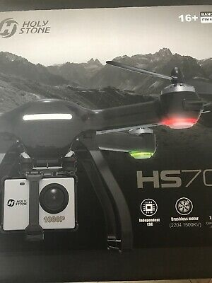 Holy Stone HS700 FPV GPS RC Drone- Brushless Motor- Black