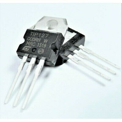TIP127 TO-220 Transistor simple bipolaire (BJT), Darlington 6005Z