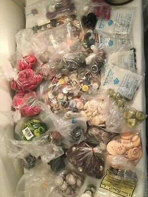 Buttons Lot. Hundreds In This Lot
