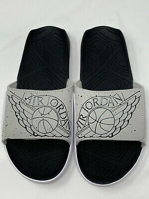e3dfa9aba06 JORDAN HYDRO 7 Slide tech grey/black/white NEW AA2517-004 - $54.00 ...