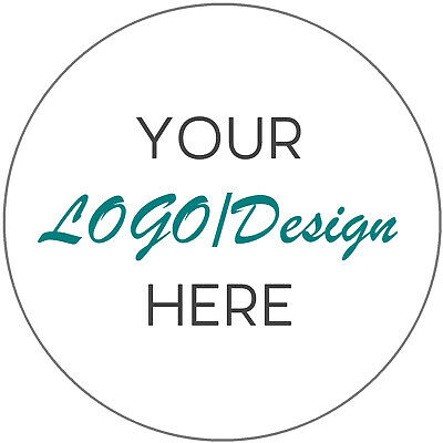 Personalised Business Company Name LOGO Printed Stickers Thank you labels 35mm