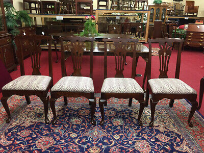 Vintage Cherry Dining Chairs - Transitional - Four Available - Delivery Availabl