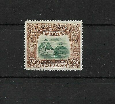 St Lucia  1902 Anniversary of Discovery 2d MNH (7986)