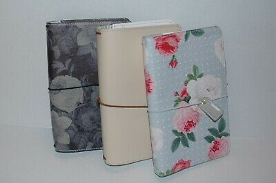 Set of 2 Webster's Pages and 1 Carpe Diem Traveler's notebooks covers
