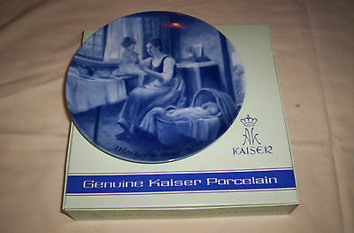 Kaiser-Rare-New--1979 Mother's Day Plate w/Original Boxes--Design By NORI PETER