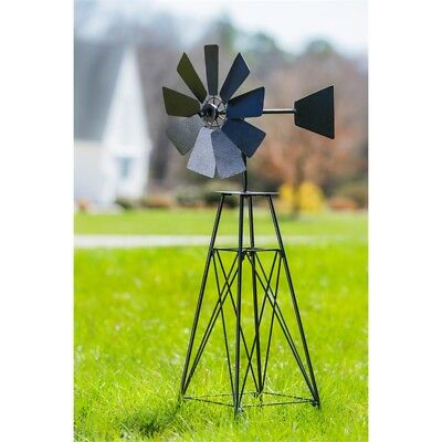 "Weathervane Windmill Wind Spinner 36"" Farmhouse Outdoor Decor Weather Vane"