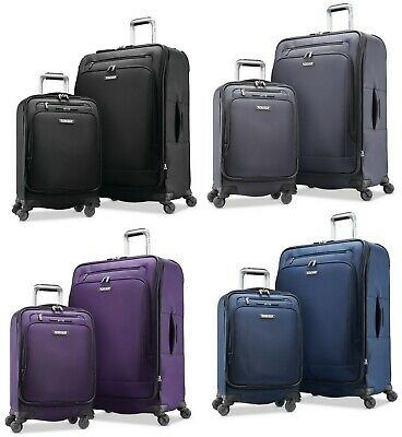 Samsonite Precision Pivot Spinner Softside 2-Piece Poly-nylon Luggage Set
