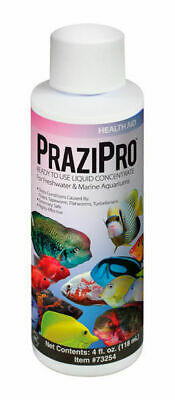 Aquarium Solutions Prazipro 4oz Freshwater & Saltwater Treats 480 gallons