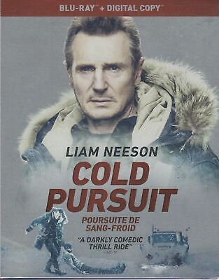 NEW - COLD PURSUIT (BLURAY + DIGITAL, Slipcover) Liam Neeson & Laura Dern