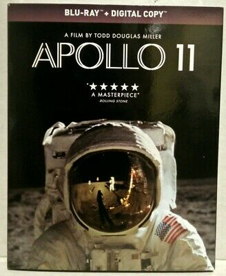 NEW- Apollo 11 (Blu-ray, DVD, 2019, Slipcover) Elevation Pictures Release