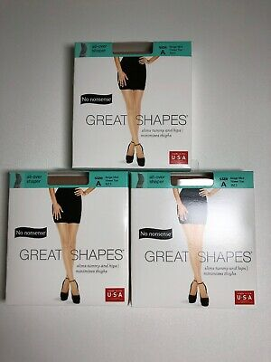 d2bdba723 No Nonsense Great Shapes Pantyhose Beige Mist Size A Sheer Toe All Over  Shaper