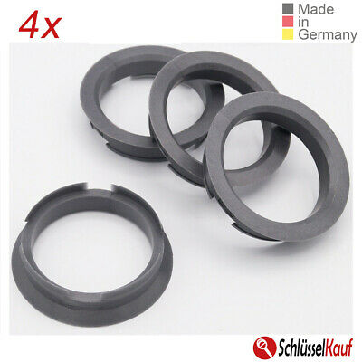 Car & Truck Parts Other Set 4x Spigot Rings 63,3-58,1 Car Alloy Wheel Hub centric spacer 63.3 to 58.1 mm