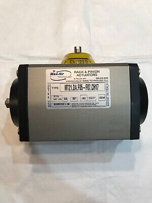Max Air Technology MT21.DA.F05-F07.CH17 Rack and Pinion Actuator